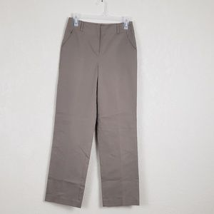 Talbots Stretch Brown Career Pants Sz 2